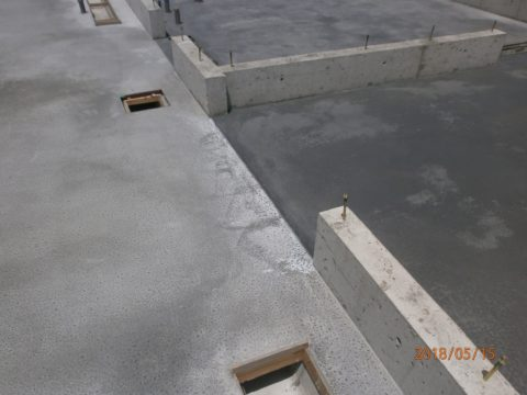 カラクリート工事
