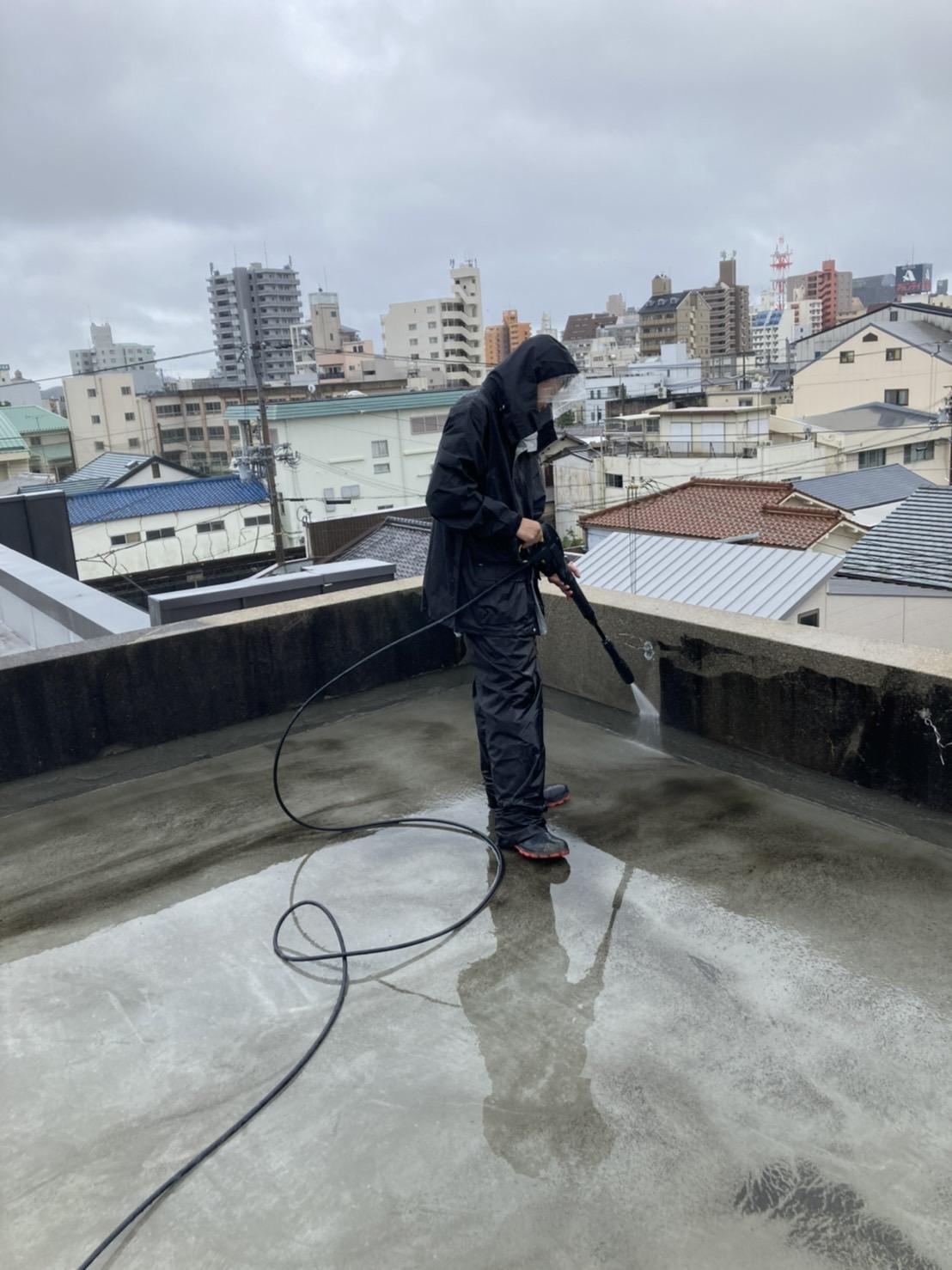 土間の改修工事